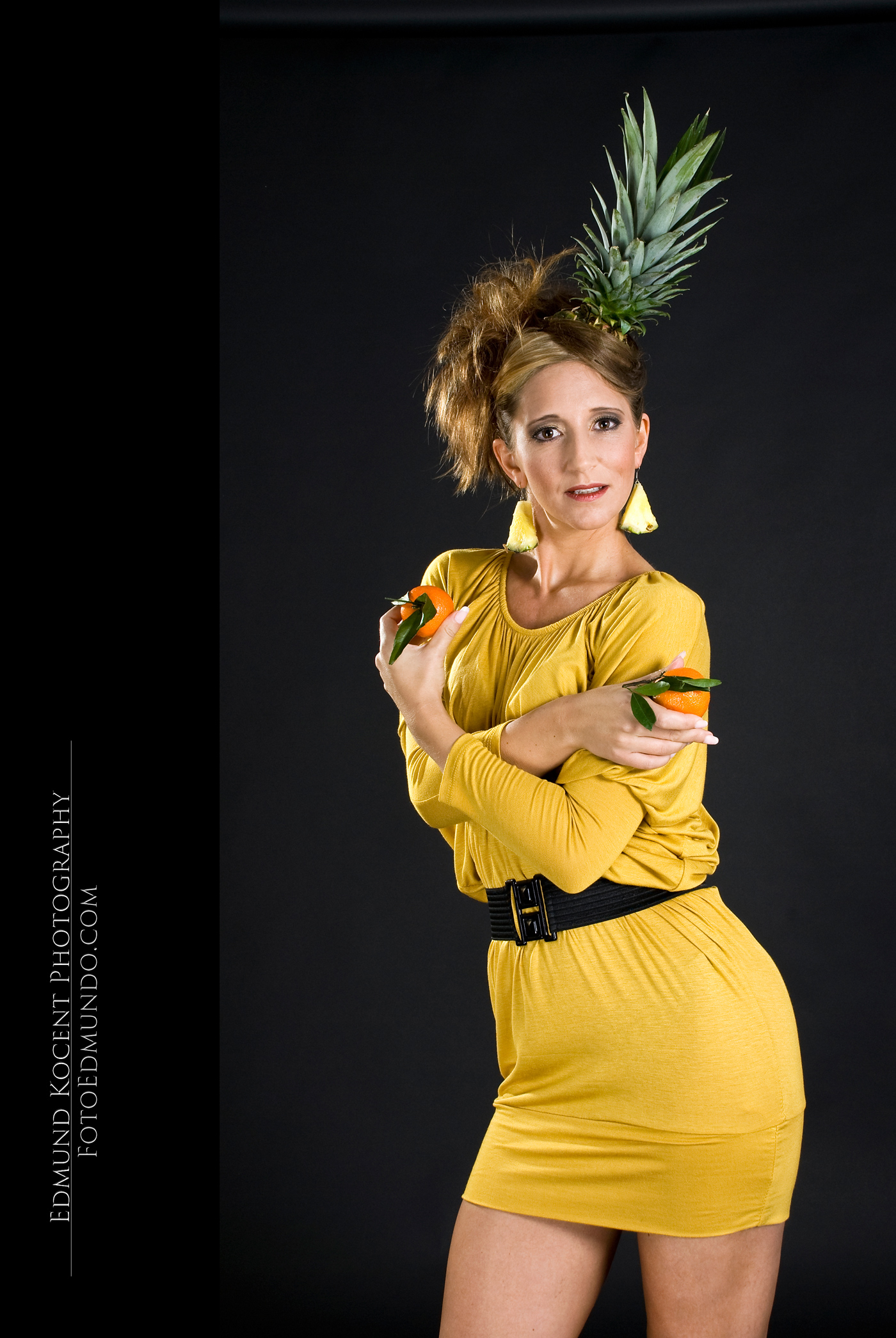 Fashion mit Ananas von FotoEdmundo