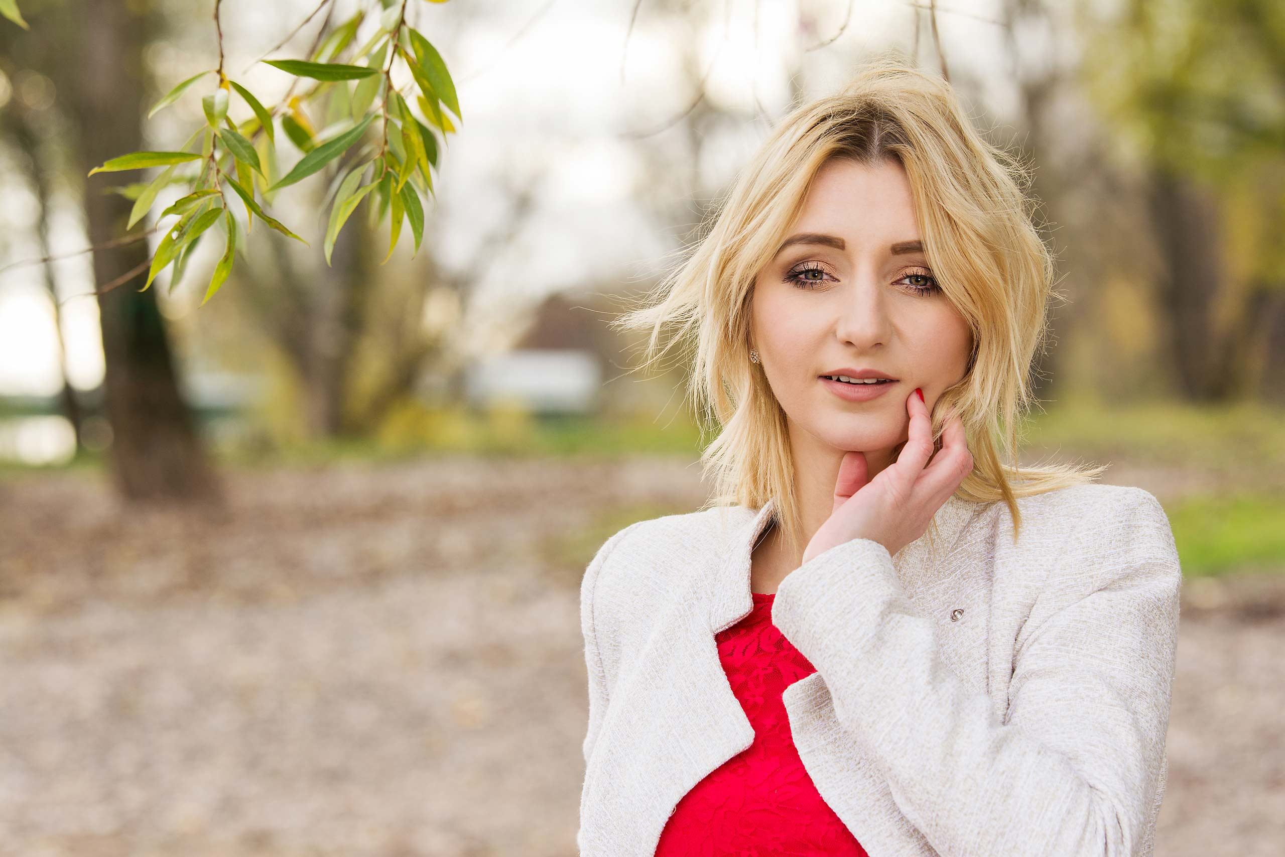 blonde Frau in Koeln FotoEdmundo