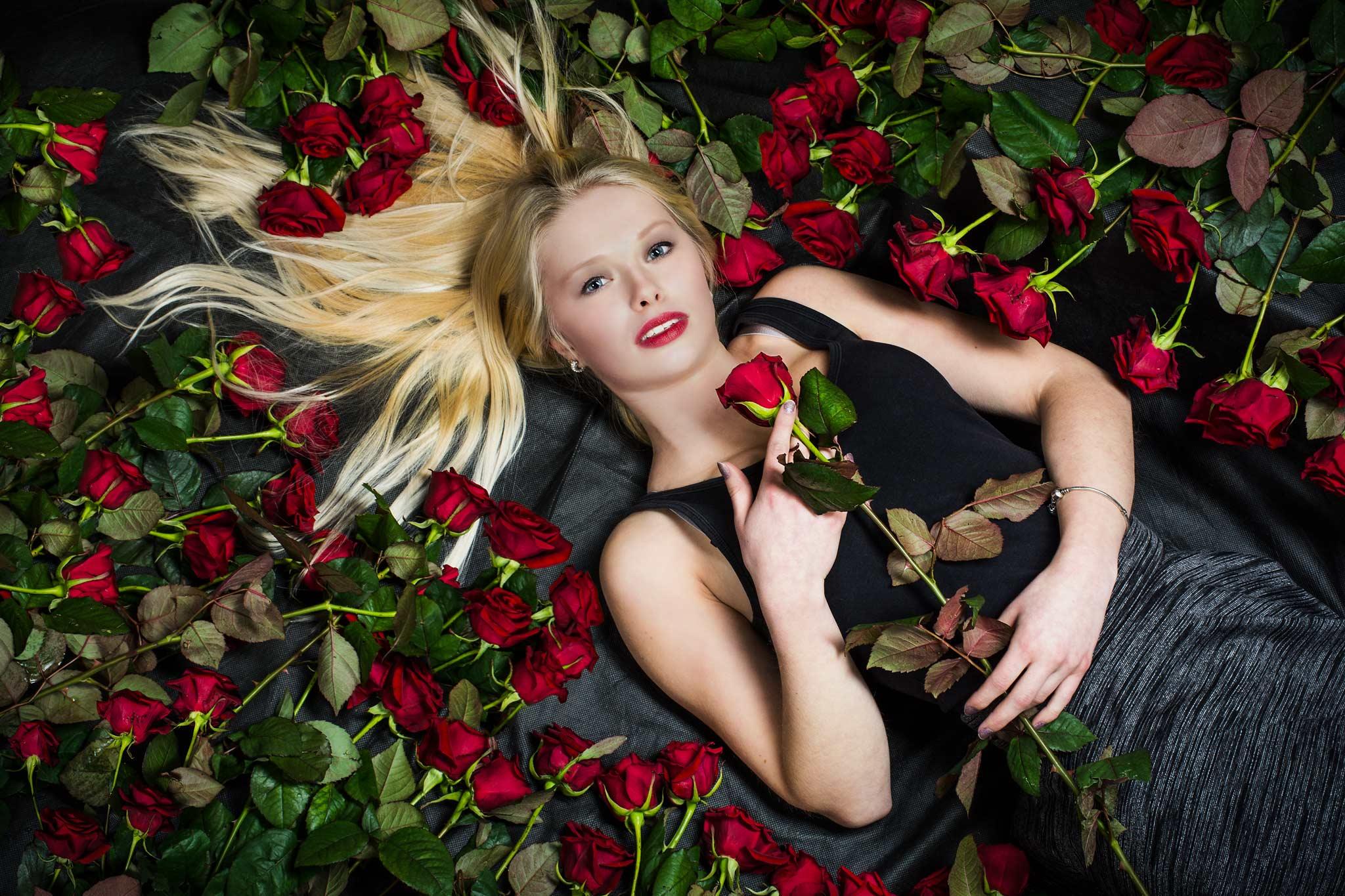 Shooting mit 100 echten Rosen by FotoEdmundo