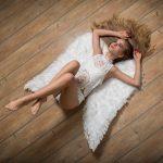 weißer Engel, Studio, FotoEdmundo