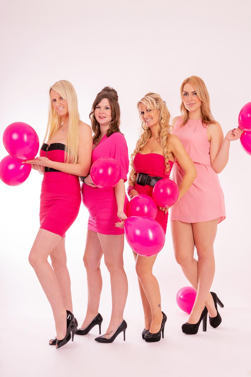 Schwangere Frau, Freundinnen, Foto: FotoEdmundo