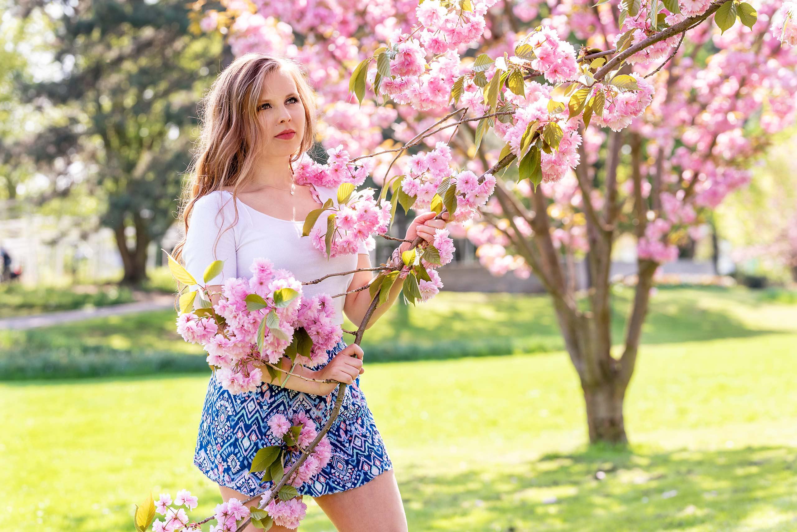 Kirschblüten Shooting